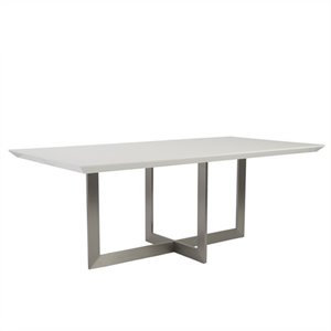 Eurostyle Tosca Dining Table in White