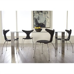 Eurostyle Beth Frida 5 Piece Dining Set