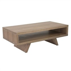 Eurostyle Monique Coffee Table in Walnut