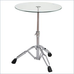 Eurostyle Dino Contemporary Round End Table