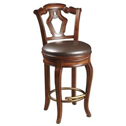 Pulaski Vialetto Bar Stool in Toscano Brown