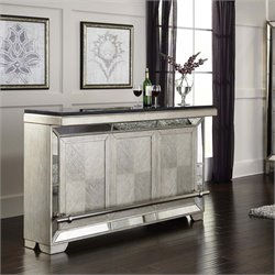Pulaski Farrah Mirrored Home Bar