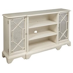 Pulaski Madison Mirrored Door Console in White