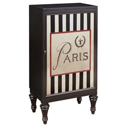 Pulaski Paris Bar Cabinet in Black