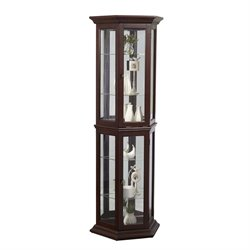 MER-1242 Angled Mirrored Back Curio