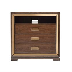 Pulaski 3 Drawer Media Chest in Brown