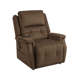 Pulaski Prime Resources Double Motor Lift Recliner in Brown