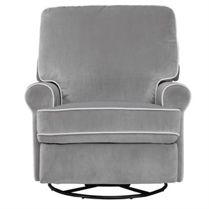 Pulaski Prime Resources Prime Resources Swivel Glider Recliner in Gray