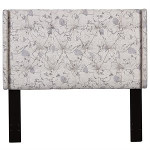 Pulaski Upholstered Full or Queen Panel Headboard in Multi