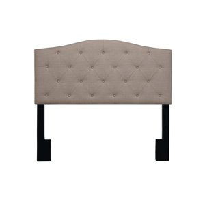 Pulaski Upholstered Panel Headboard in Brown-SH2