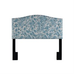 Pulaski Upholstered Panel Headboard in Blue-SH5