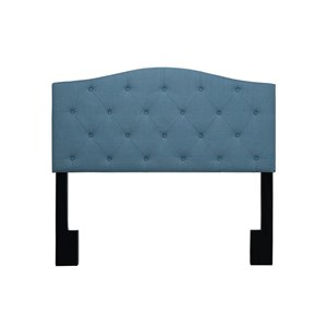 Pulaski Upholstered Panel Headboard in Blue-SH6