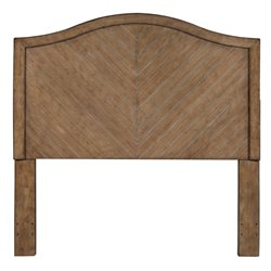 Pulaski Queen Wood Panel Headboard in Brown
