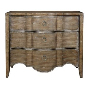 Pulaski Mallory 3 Drawer Accent Chest in Brown