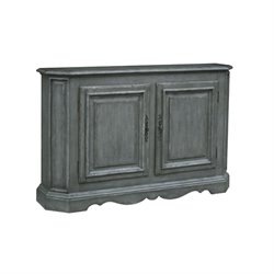 Pulaski Sojourn Console in Gray