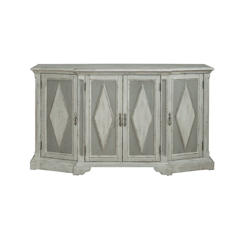 Pulaski Victoria Sideboard in Gray