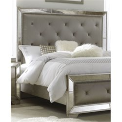 Pulaski Farrah Queen Headboard in Gold