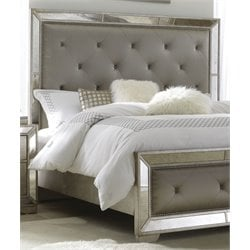 Pulaski Farrah King and Cal King Headboard in Gold