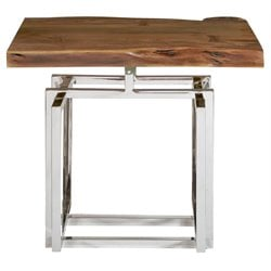 Pulaski Galaxy End Table in Brown