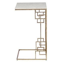 Pulaski Capricorn End Table in White