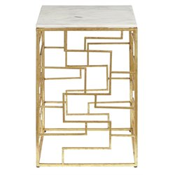 Pulaski Libra End Table in White