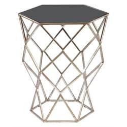 Pulaski Aquarius End Table in Black