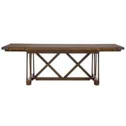 Pulaski Weston Loft Rectangular Table in Brown