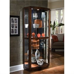 Pulaski Pacific Heights Curio Cabinet