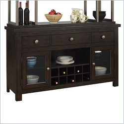 Pulaski Del Ray Buffet in Rich Wood Tones