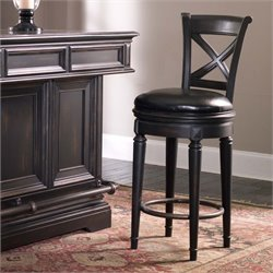 Pulaski Brookfield Bar Stool in Brown