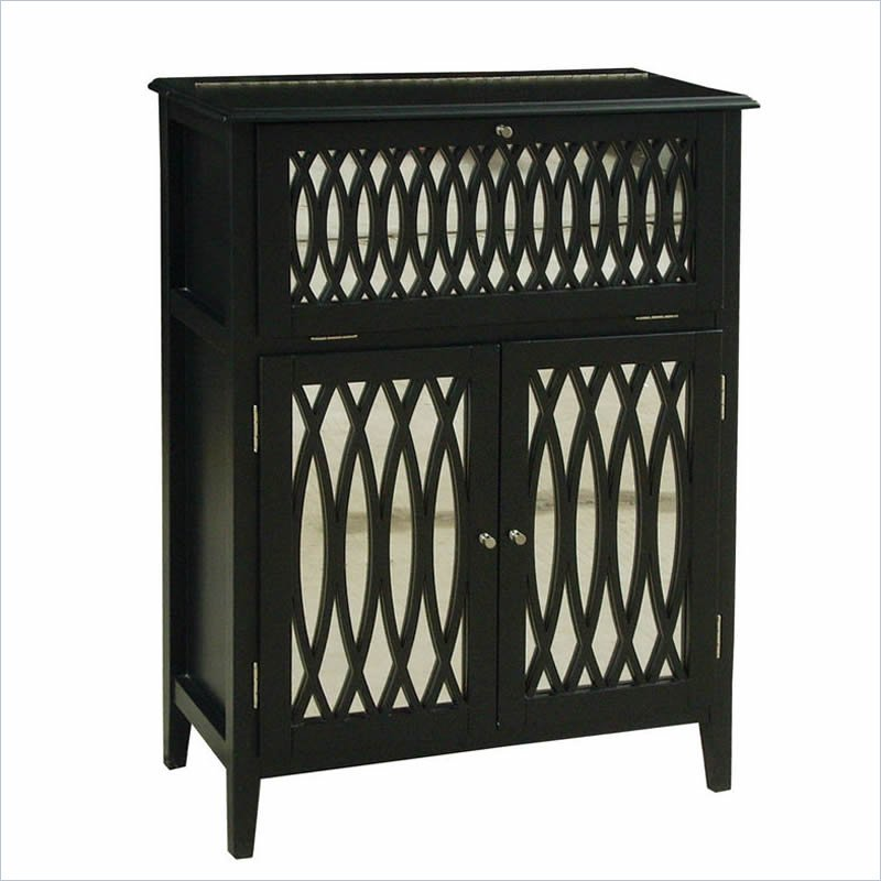 Accents Modern Mojo Wine Chest in Bardot