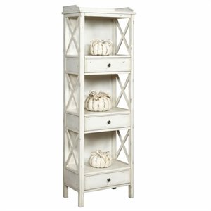 Pulaski Accents Rustic Chic Bookcase in Cadence
