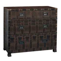 Pulaski 4 Drawer Accent Chest in Bronze