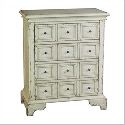Pulaski Chest in White and Natural