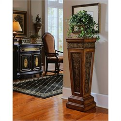 Pulaski Accents Pedestal in Nugget Finish
