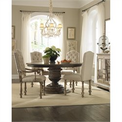 Pulaski Accentrics Home Daphne Round Table and Chairs 5 Pc Set