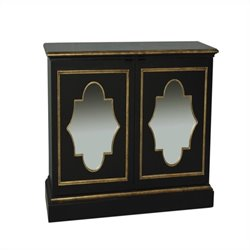 Pulaski 2 Door Console in Black