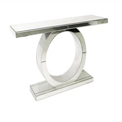 Pulaski Mirrored Console in Mirrored