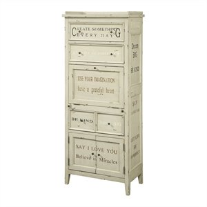 Pulaski Accents Multi-Functional Cabinet in White