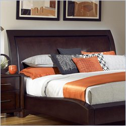 Pulaski Amaretto California King Size Headboard in Dark Brown