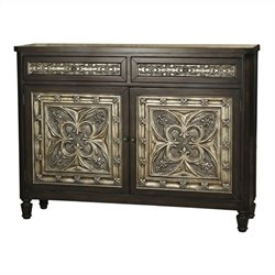 Pulaski Accents Hall Accent Chest in Deep Espresso
