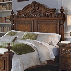Pulaski Cheswick Panel Headboard in Brown