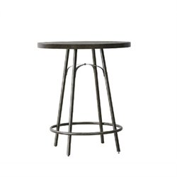 Pulaski Vintage Tempo Metal Pub Table in Copper