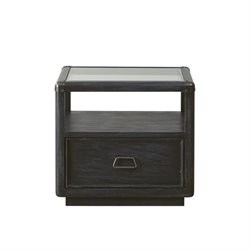 Pulaski Vintage Tempo End Table in Black