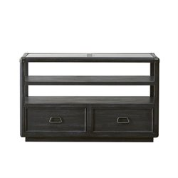 Pulaski Vintage Tempo Sofa Table in Black