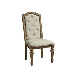 Pulaski Stratton Dining Side Chair in Brown