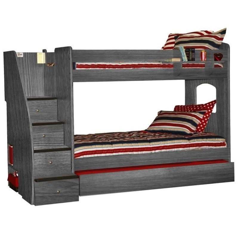 Berg Furniture Enterprise Twin over Twin Bunk Bed