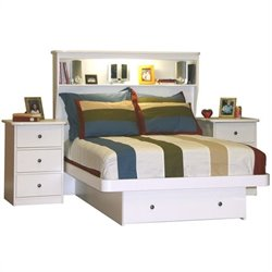 Berg Furniture Sierra Full Bookcase Bed