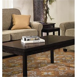 Avenue Six Main Street 3 Piece Coffee Table Set in Espresso