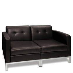 Avenue Six Wall Street 2-Piece Loveseat